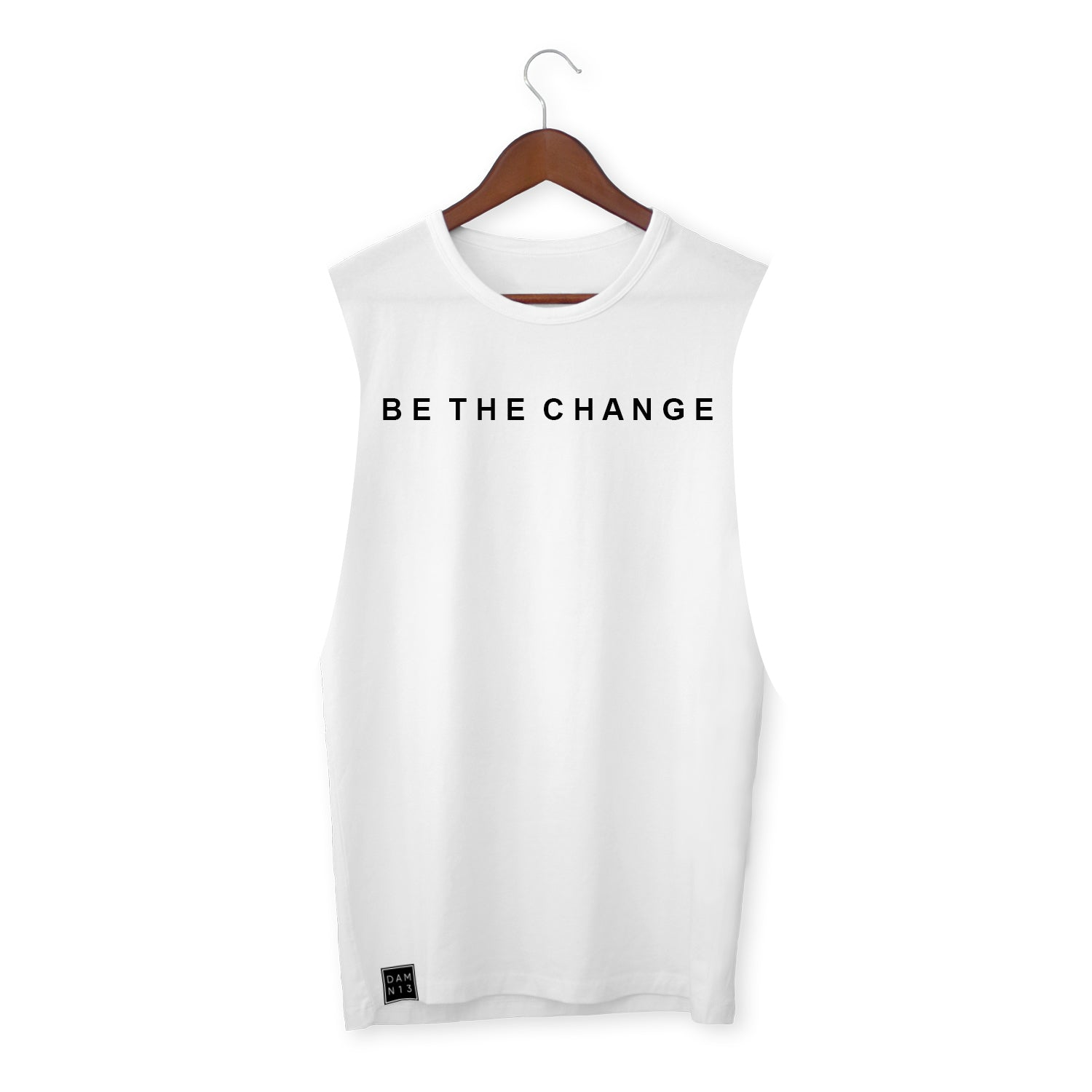 WHITE VEST / BE THE CHANGE