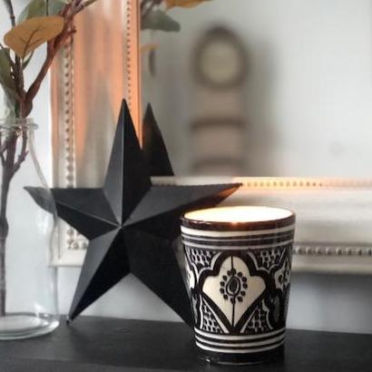 NEROLI, SWEET ORANGE & VANILLA SOY CANDLE MONOCHROME