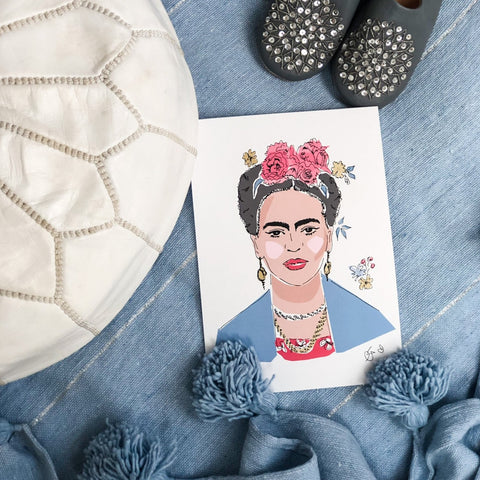 FRIDA PRINT BY GEORGINA TRESTLER
