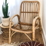 VINTAGE BAMBOO ARMCHAIR
