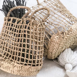 FATINE OPEN WEAVE STORAGE BAG