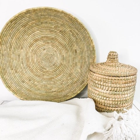 BERBER REED PLATE IN NATURAL