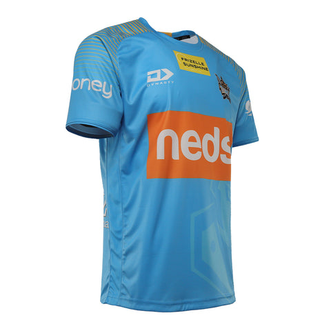 2021 Gold Coast Titans Mens Captains Run Tee
