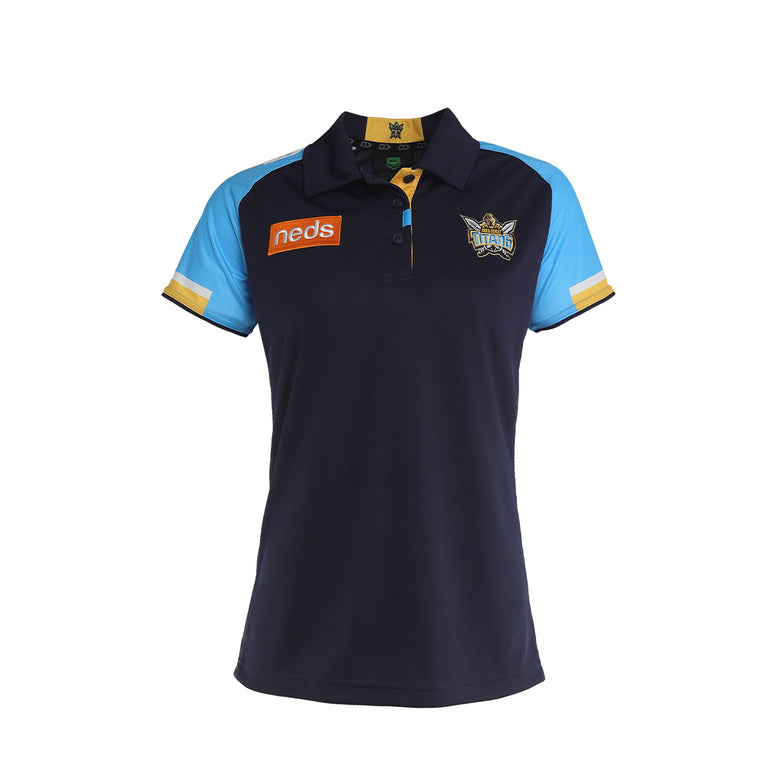 2021 Gold Coast Titans Ladies Media Polo