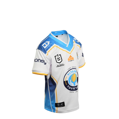2021 Gold Coast Titans Junior Replica Away Jersey