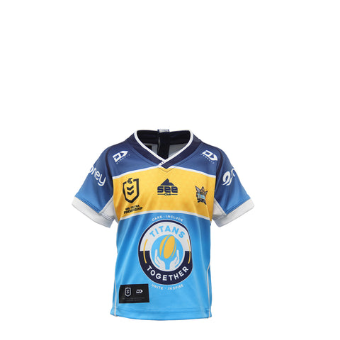 2021 Gold Coast Titans Toddler Replica Home Jersey