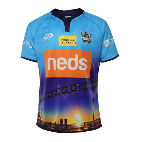 2021 Gold Coast Titans Mens Replica Training Jersey