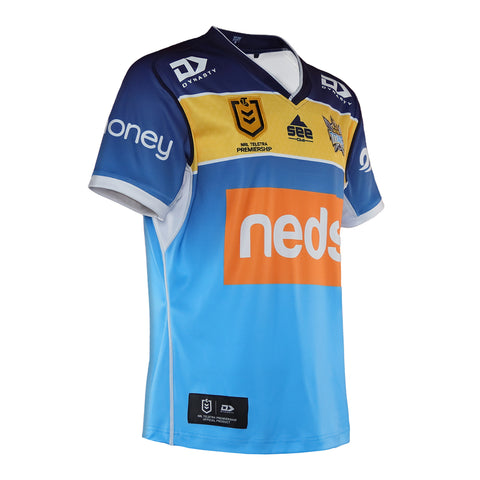 2021 Gold Coast Titans Mens Replica Home Jersey