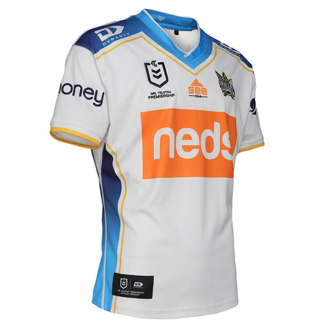 2021 Gold Coast Titans Mens Replica Away Jersey