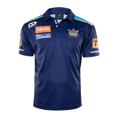 2020 Gold Coast Titans Mens Media Polo