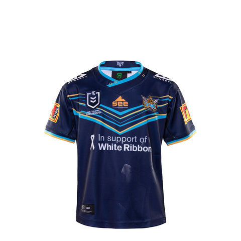 2020 Gold Coast Titans Junior Replica Home Jersey