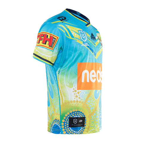 2020 Gold Coast Titans Mens Replica Indigenous Jersey