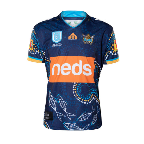Gold Coast Titans Mens Replica Indigenous Jersey
