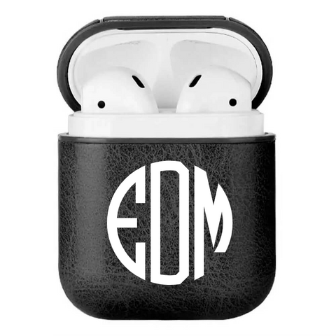 personalize monogrammed airpod case