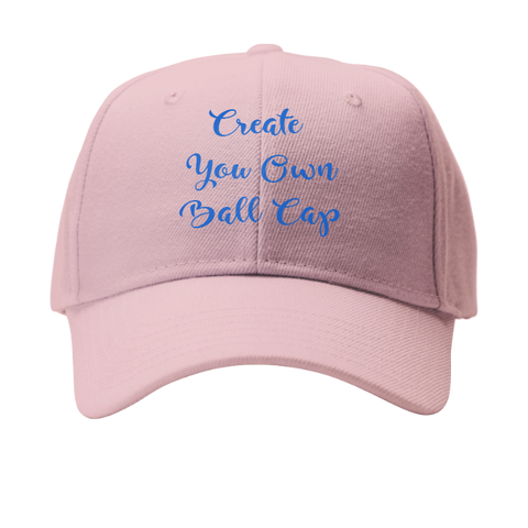 Pink Create your own ballcap