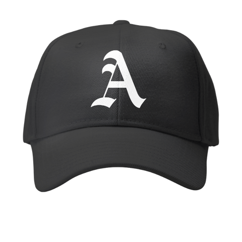 Old English customized initialed Ball cap
