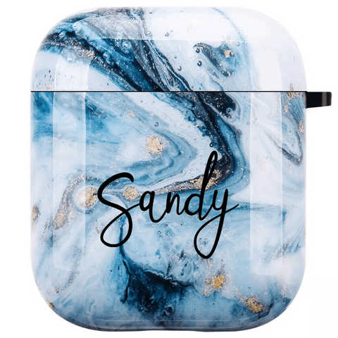 Marble Personalized Airpod Case