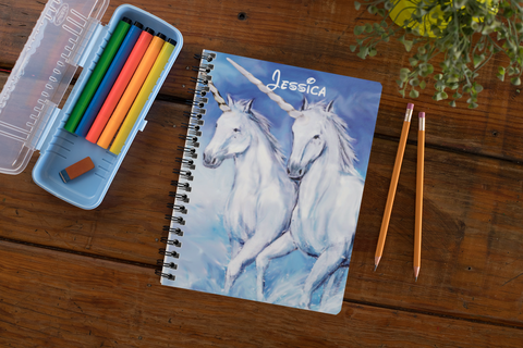 Expressiffy's personalized A5 notebooks set of 3
