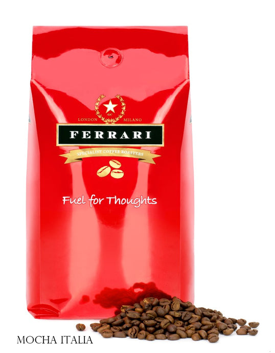 Ferrari Coffee - Mocha Italia - 1 x 1kg Bag