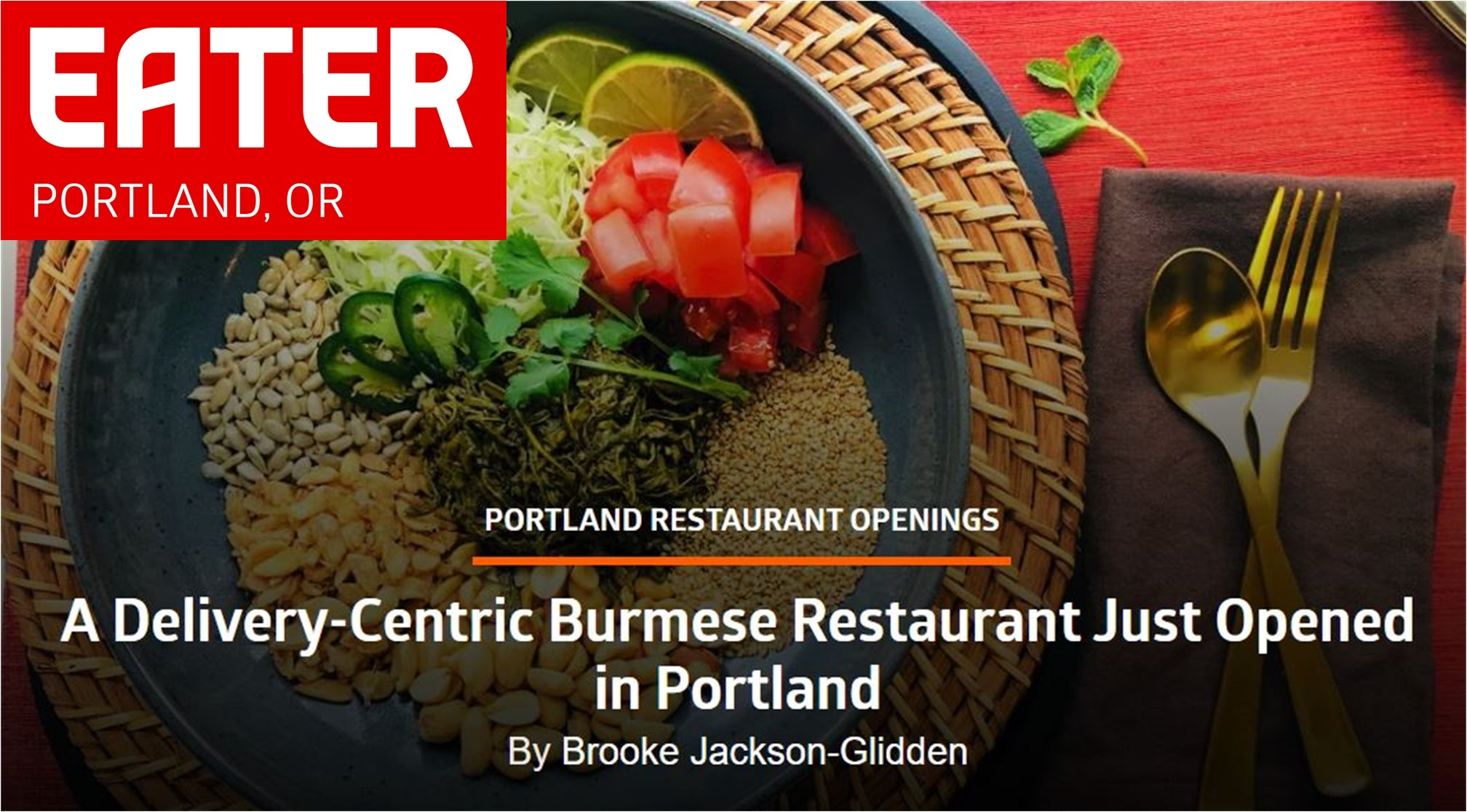 Top Burmese. Portland Burmese Food. Best Burmese Cuisine. Fermented Tea Leaf Salad, Samosas and More.