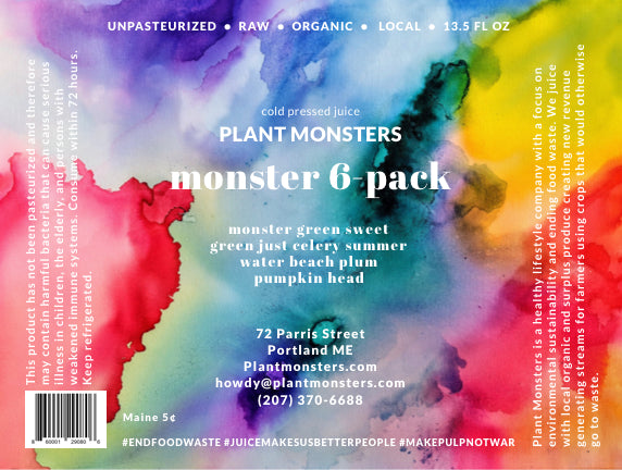 Monster Assorted Flavors 6 Pack