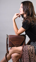 Nut Brown Envelope Cross-body