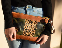 Camo/Leopard Mix Vacation Wristlet
