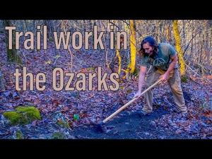 Trail work in the Ozark National Forest