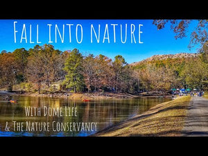 "The first ""Fall Into Nature with Dome Life and The Nature Conservancy"" was a success!!!"