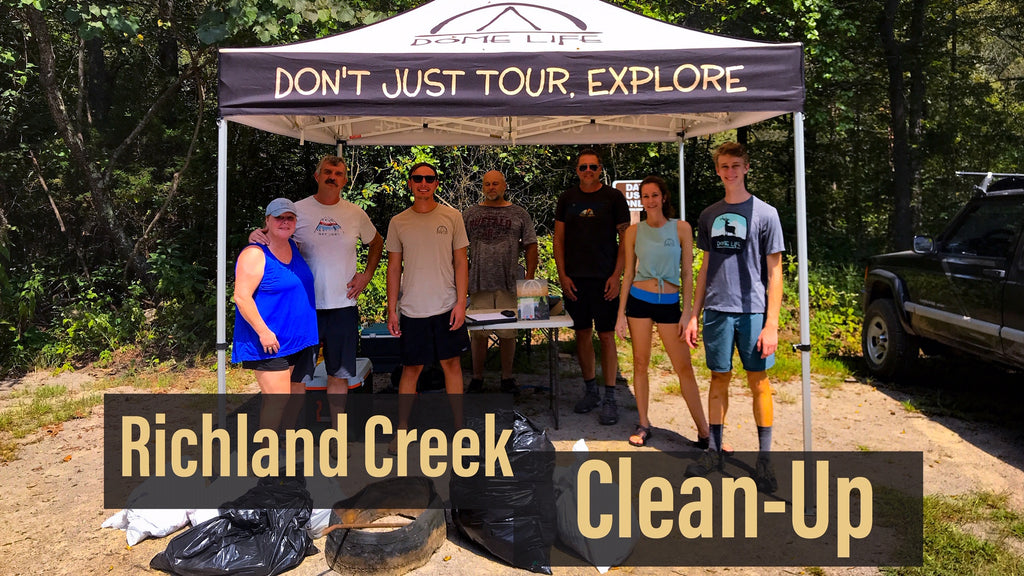Richland Creek Clean-Up