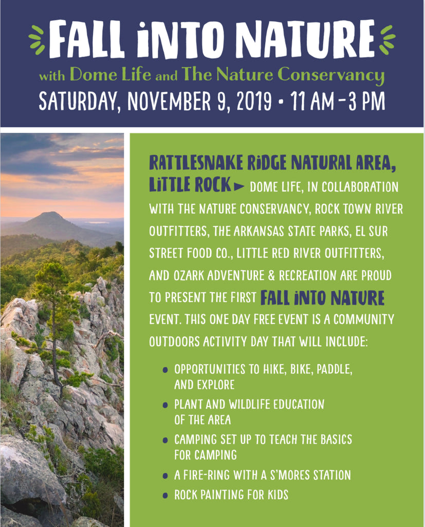 Fall Into Nature with Dome Life and The Nature Conservancy