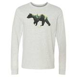 Long Sleeve Ash Bear Tee