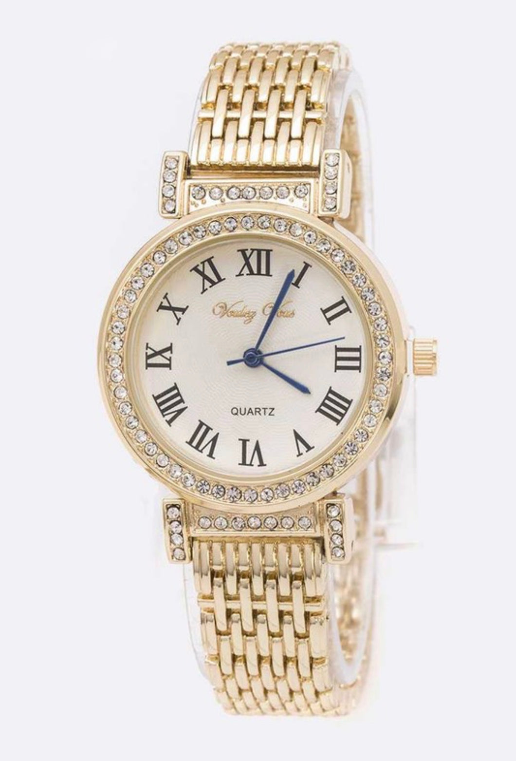 Roman Number Crystal Fashion  Watch - Alpha & Omega Boutique