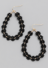 Load image into Gallery viewer, Flower Bead Teardrop Earrings - Alpha & Omega Boutique