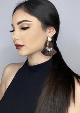 Load image into Gallery viewer, Gem Tassel Earrings - Alpha & Omega Boutique