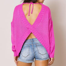 Load image into Gallery viewer, Giulia Cutout Sweater - Alpha & Omega Boutique