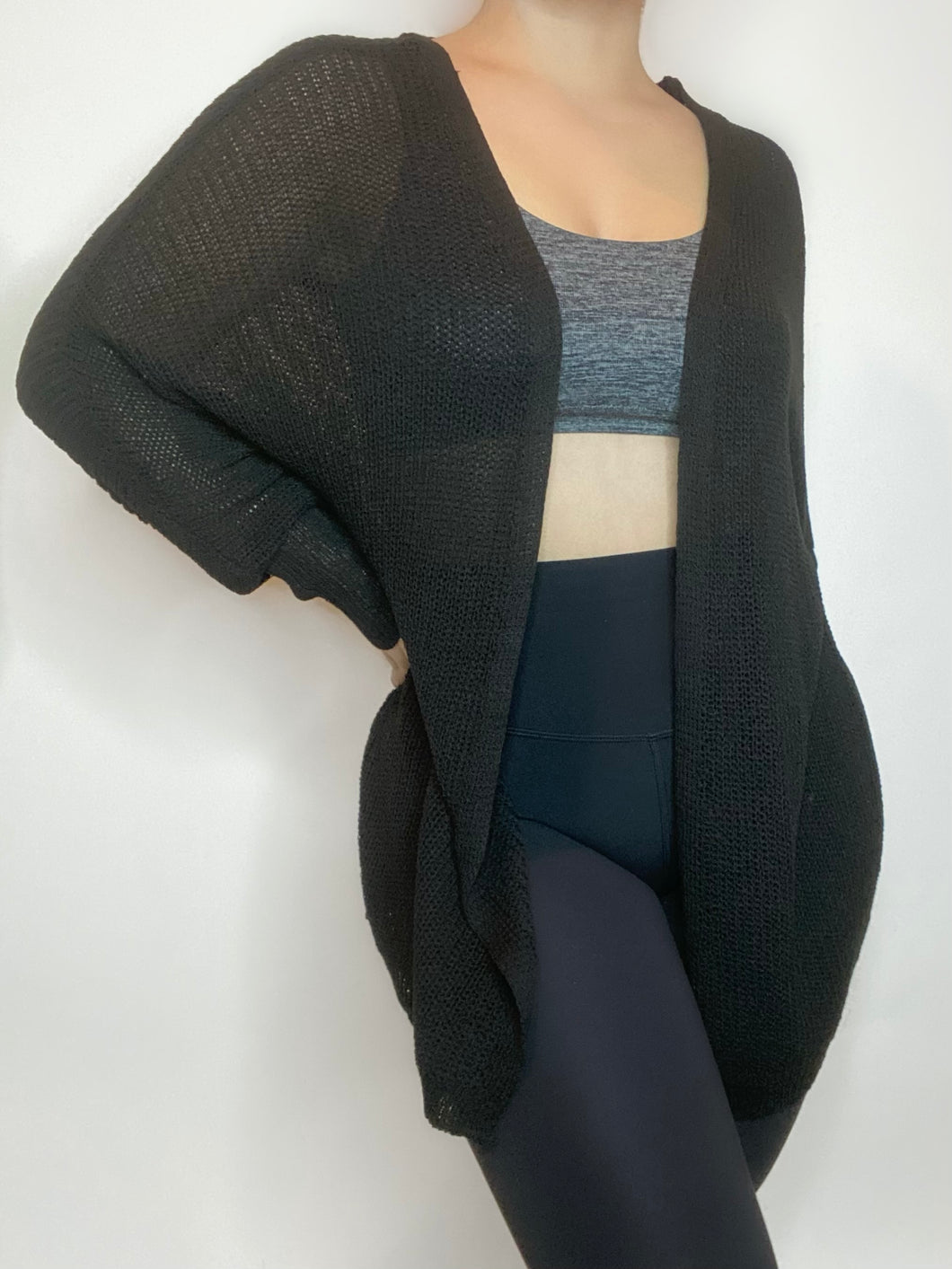 Tess Cardigan (Black)