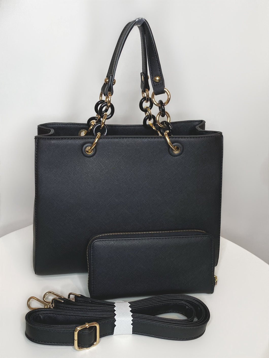 Chain-Link Purse & Marching Wallet