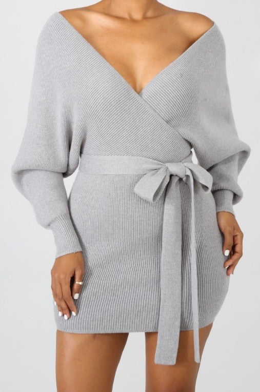 Diana Dress (Gray)