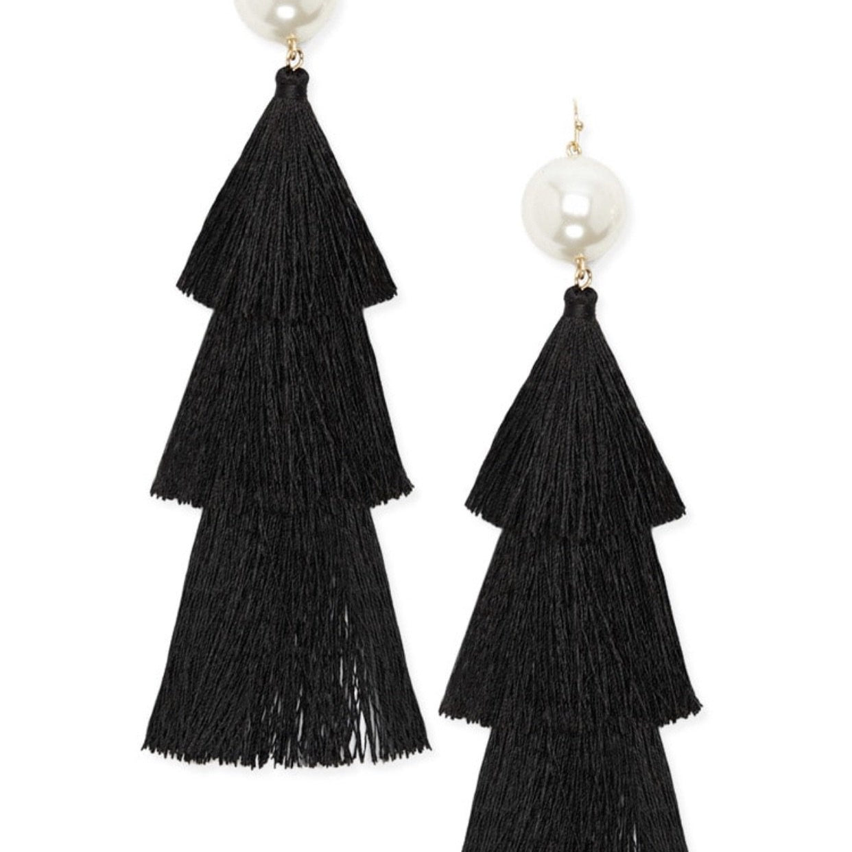 Pearl Duster Earrings - Alpha & Omega Boutique
