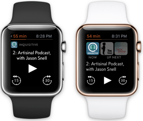 Overcast Apple Watch App Apps OzStraps New Zealand WatchOS