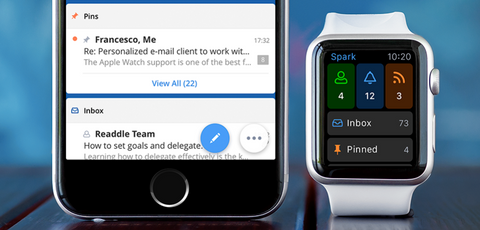 Spark Apple Watch Email App Apps OzStraps New Zealand NZ
