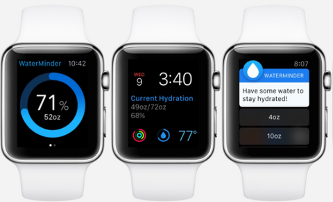 Waterminder Apple Watch App WatchOS OzStraps New Zealand NZ