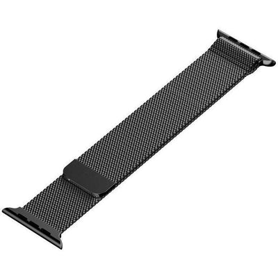 Space Grey Milanese Loop Apple Watch Band - OzStraps New Zealand