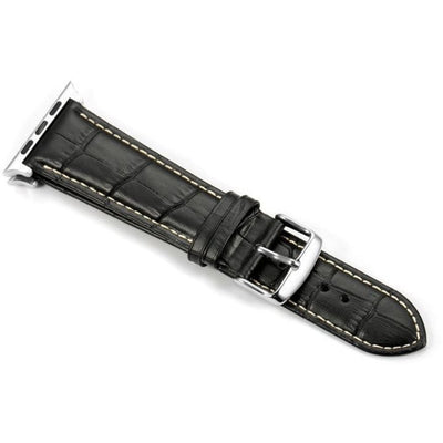 Italian Calf Leather 3 Pin Clasp Apple Watch Bands - OzStraps New Zealand