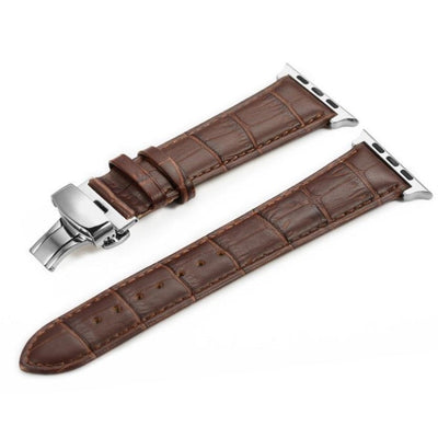 Italian Calf Leather Deployant Clasp Apple Watch Bands - OzStraps ?id=19422271109