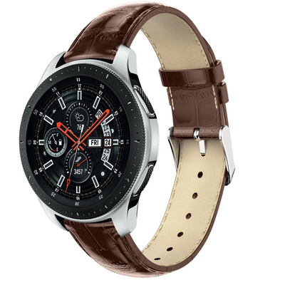 Italian Calf Leather 3 Pin Clasp Samsung Galaxy Watch Band - OzStraps New Zealand