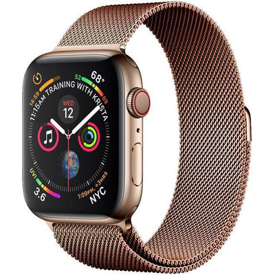 Coffee Milanese Loop Apple Watch Band
