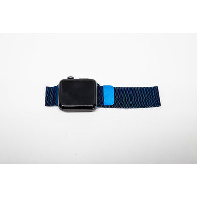 Blue Milanese Loop Apple Watch Band - OzStraps New Zealand