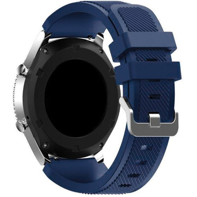 Midnight Blue Silicone Samsung Gear S3 Band - OzStraps New Zealand